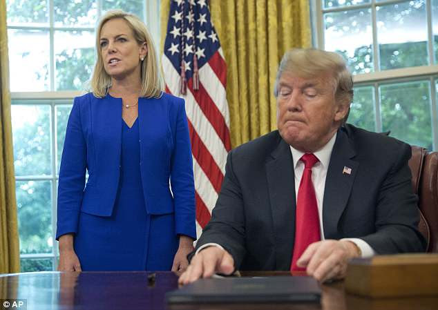 President Trump signed an executive order on Wednesday reversing the separation policy