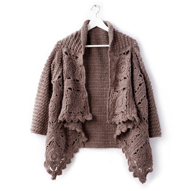 2b5971586 Craft Passions  Ladies granny squares cardigan  Free Crochet ...