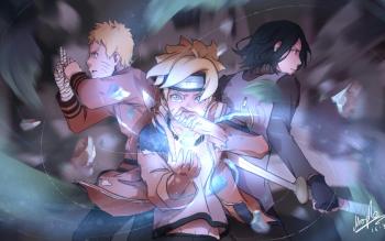 Naruto Uzumaki Boruto Wallpaper Hd