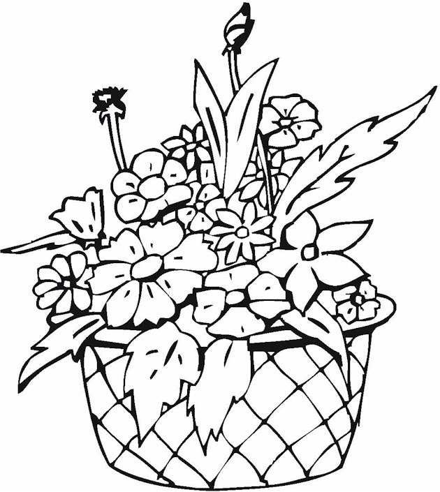 1000 Images About Flower Coloring Pages Clipart Best Clipart Best