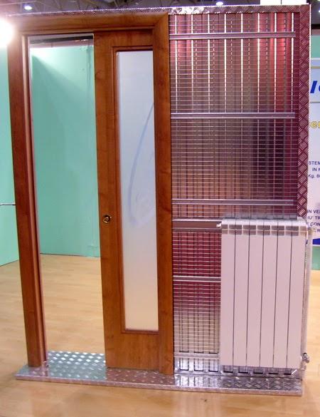 Il meglio di potere telai alluminio per porte a scomparsa - Porte invisibili scorrevoli ...
