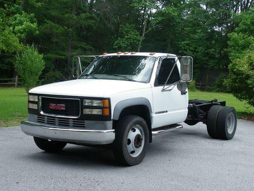 Buy used 1997 GMC 1 TON TRUCK SIERRA 3500HD TRUCK CAB ...