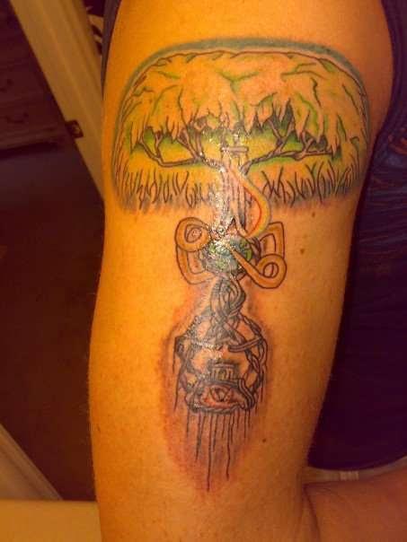 Yggdrasil Nordic Tree Of Life Tattoo