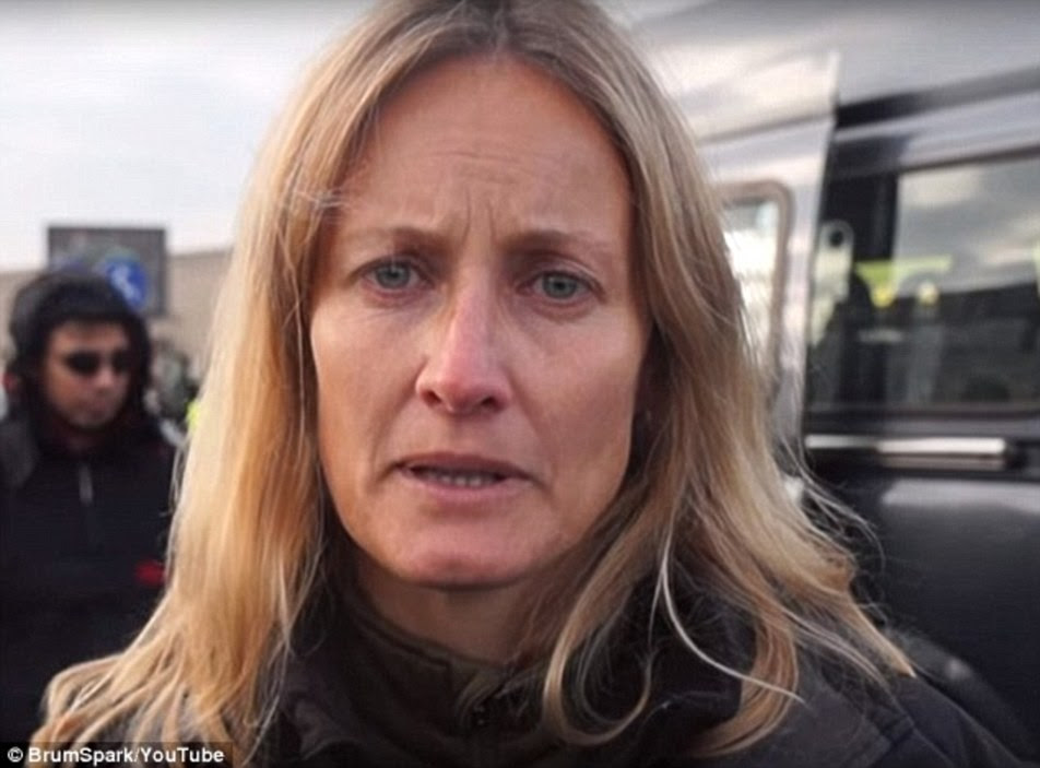 Clare Moseley of Care4Calais has accused French authorities of acting like Nazis over their plans to remove migrants from the Jungle camp and send them to centres around the country