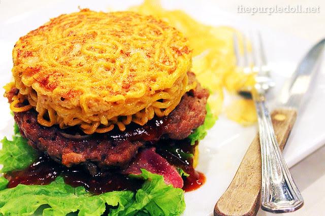 Tempura Japanese Grill Ramen Burger