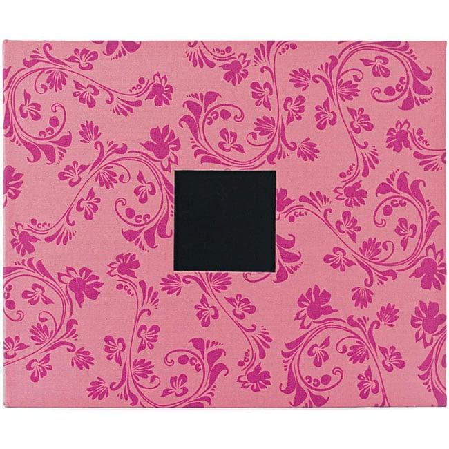 Taffy Flourishes American Crafts 3 Ring Album 12 X 12 American