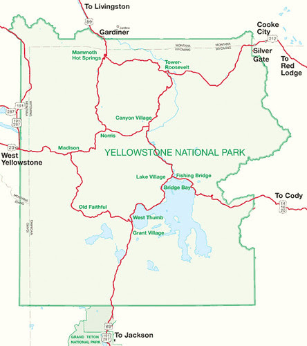 Yellowstone-Hotels-Map
