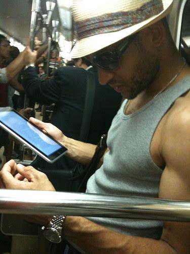 iPad reader, PATH
