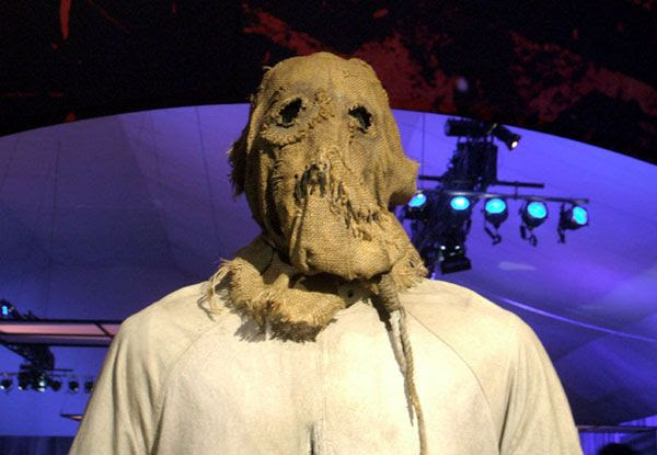 Cillian Murphy's Scarecrow outfit from BATMAN BEGINS, on December 7, 2012.