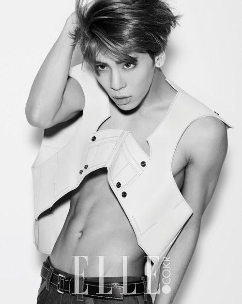 SHINee Jong Hyun - Elle Magazine February Issue '15