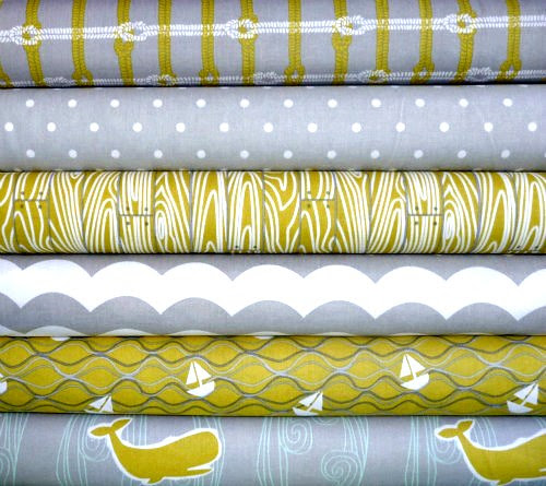 Maritime 1/2 YD Bundle for Friday's Fabric Giveaway!!