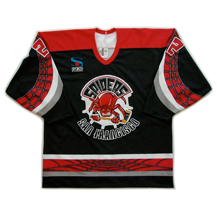 San Francisco Spiders jersey