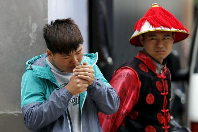 À Pékin, selon un texte entré en vigueur... (Kim Kyung-Hoon, archives REUTERS)
