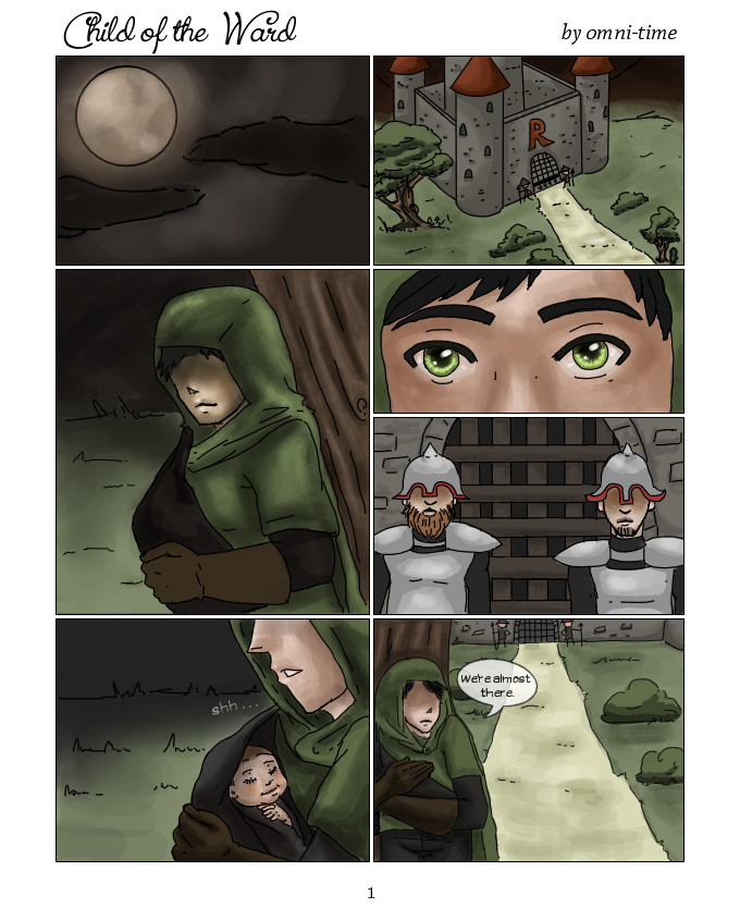 RA: Child of the Ward pg1 by omni-time