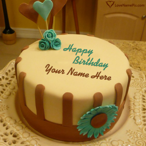 Cake Generator Birthday For With Name Sister