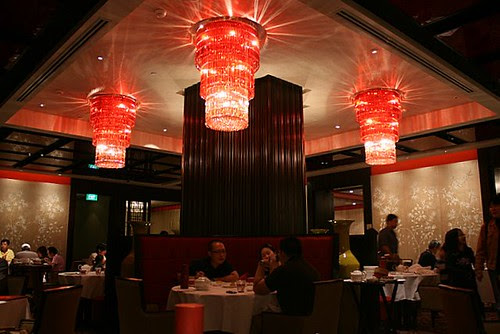 Shang Palace was renovated in late 2007, and its decor now sports modern Chinese opulence
