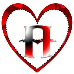 Heart Printable Alphabet Letters | Heart Shaped Banner Letter ...