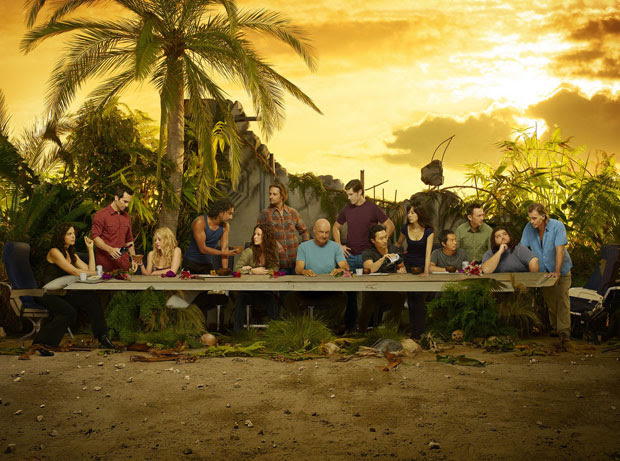 A última ceia de 'Lost': atores se reúnem para a imagem  promocional da sexta e derradeira temporada