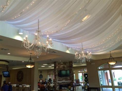pipe  draping wedding wall draping cafe lighting