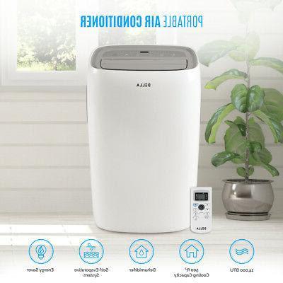 DELLA 14,000 BTU Energy Saving Portable Air Conditioner