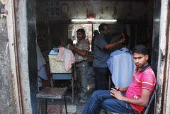 The Wait at the Barber Shop by firoze shakir photographerno1