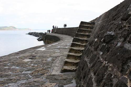 The steps at Lyme Regis