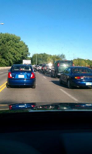 Monday morning traffic?