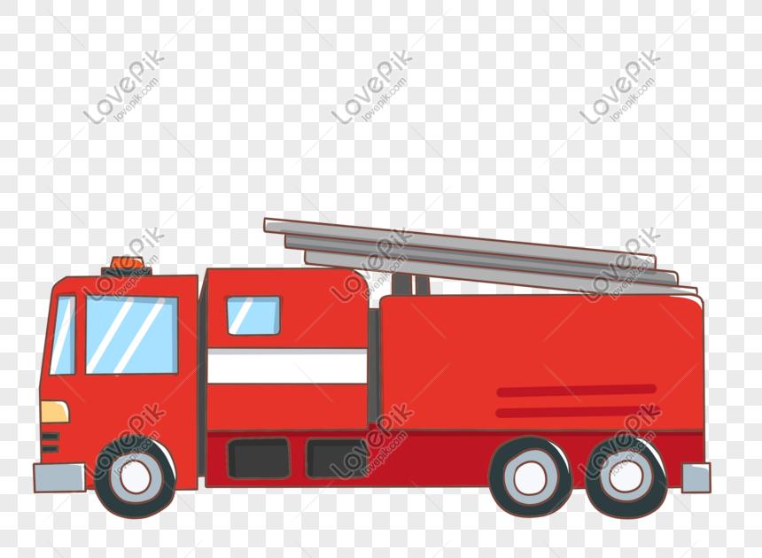 24 Gambar Mobil Kebakaran Kartun Kumpulan Gambar Kartun