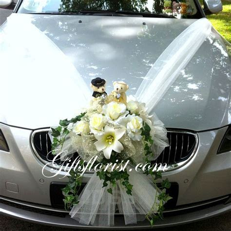 17 Best ideas about Wedding Car Decorations on Pinterest