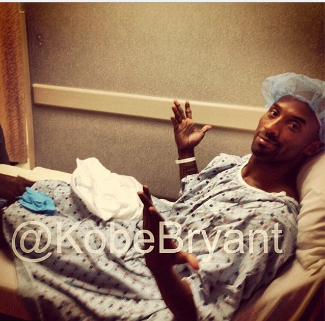 a1087f000b2 Kobe Bryant posts pictures from his hospital bed - NowMyNews