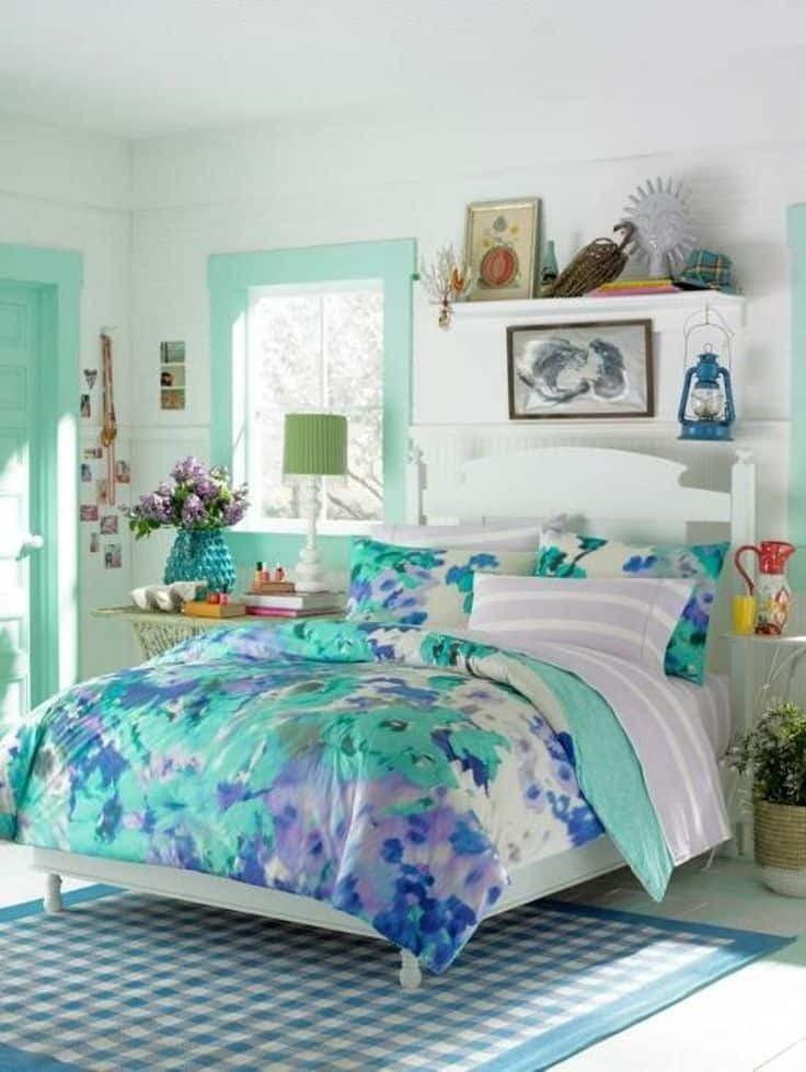 30 Smart Teenage Girls Bedroom Ideas -Design Bump