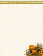 printable free autumn or fall stationery october pumpkins in orange