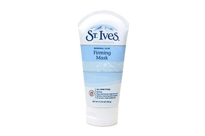 No. 9: St. Ives Blue Clay Firming Mask, $4.99
