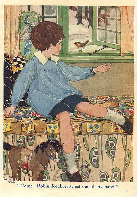Our Tots Bumper Book- robin by moonflygirl, via Flickr - Anne Anderson