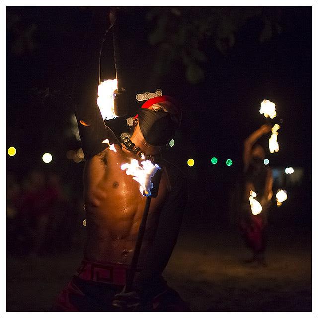 Fire Dancers At Nibbana 2