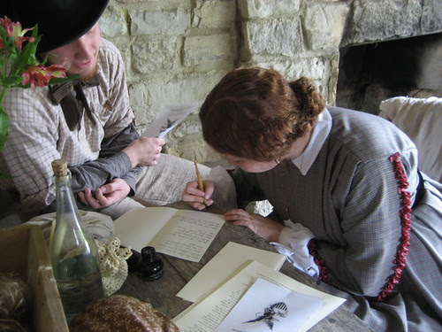 living history at boonesfield village