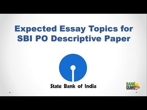 PO Main       Sample Essay for Descriptive Exam EduScoop   Eduncle com