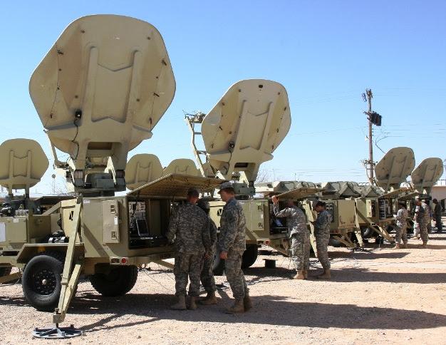 Τα δίκτυα του Στρατού των ΗΠΑ και η ελληνική διάσταση