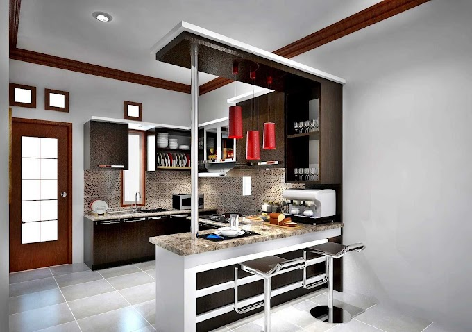 Dapur Minimalis Unik Dan Cantik | Ide Rumah Minimalis