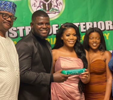 Photos and videos from the court wedding of Bisi Olatilo's son, Babajide