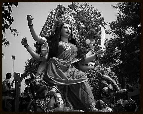 Myriad Moods Of Goddess Durga by firoze shakir photographerno1