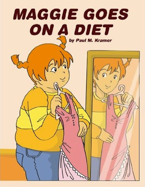 What. WHAT. A fucking diet book for six year old girls. WHAT!?