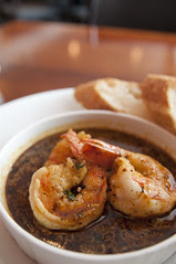 New Orleans's Style Spicy BBQ Jumbo Shrimps, beacon, Omote-Sando