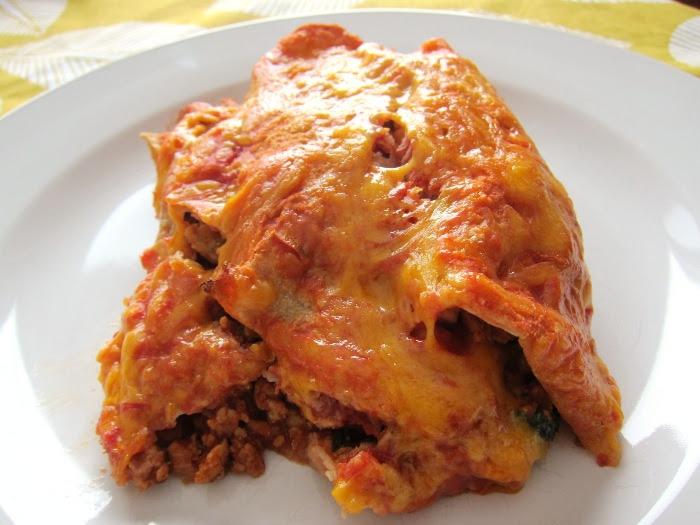 How To Make Turkey Enchiladas - Melanie Cooks
