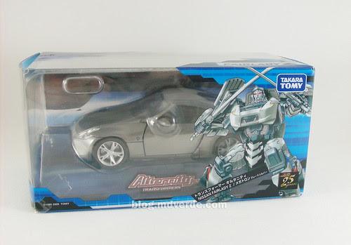 Transformers Megatron Alternity Blade Silver - caja