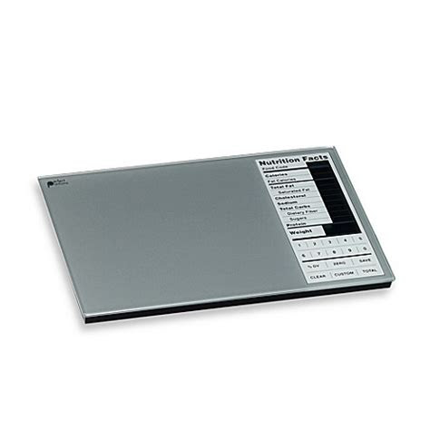 perfect portions digital nutrition food scale bed bath