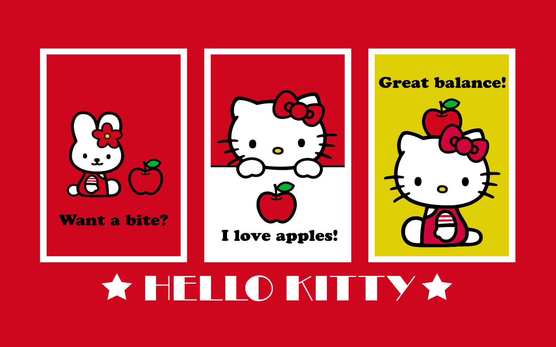 Hello Kitty Black Background 56 Images