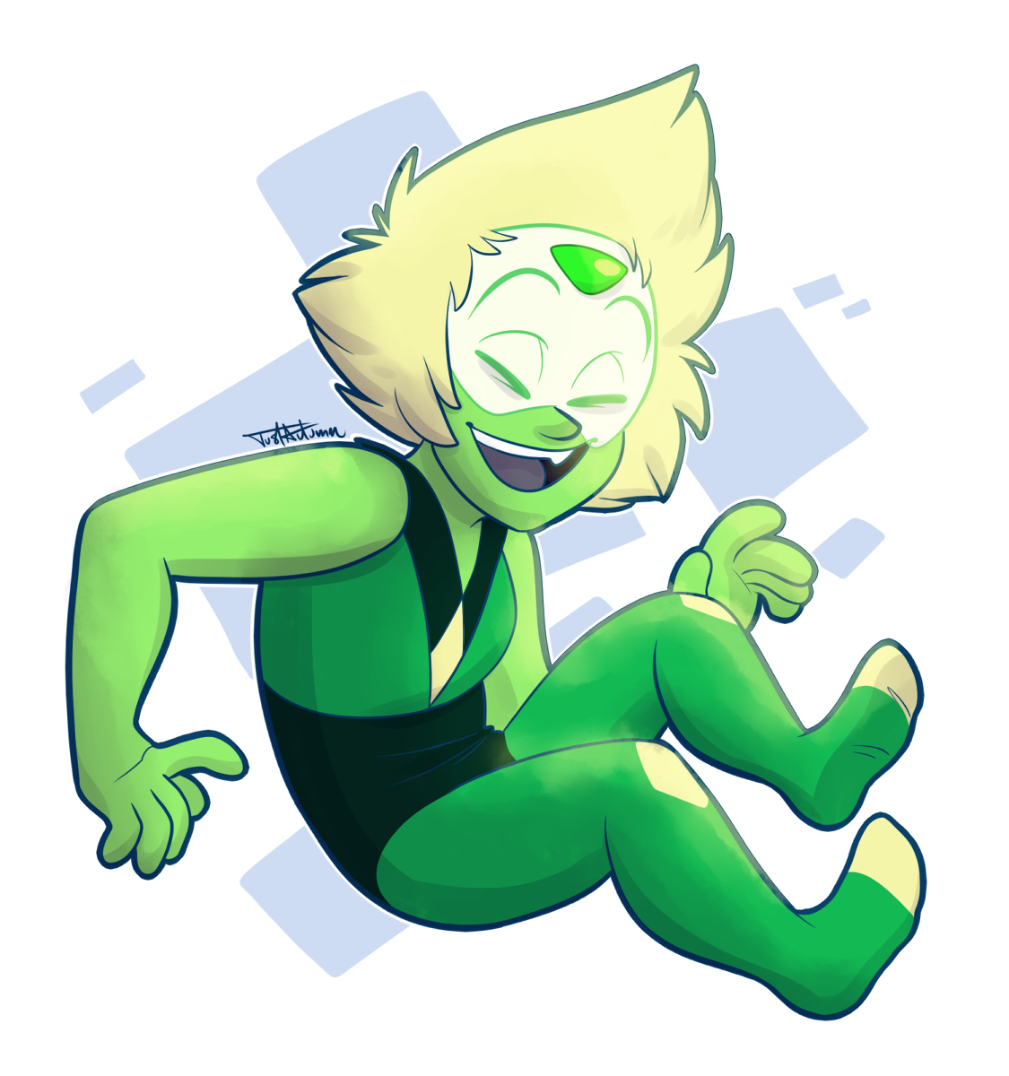 doodled up a peri during the stream last night