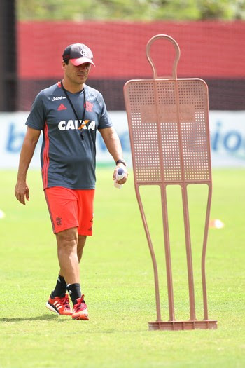 Zé Ricardo treino Flamengo (Foto: Gilvan de Souza/Flamengo)