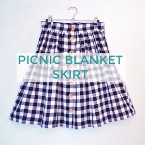 Picnic Blanket Skirt